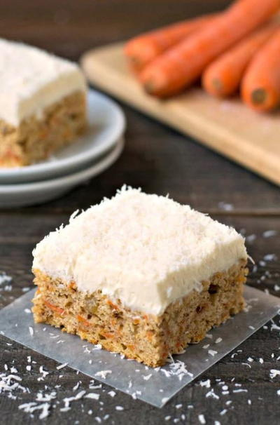 Sunday Supper Gluten Free Carrot Cake