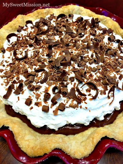 Silky Chocolate Cream Pie