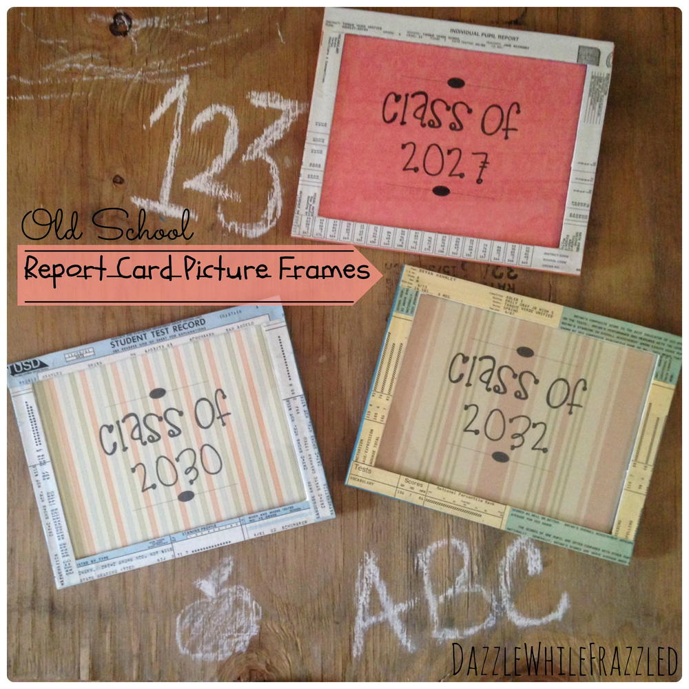 Easy Paper DIY Picture Frames | DIYIdeaCenter.com