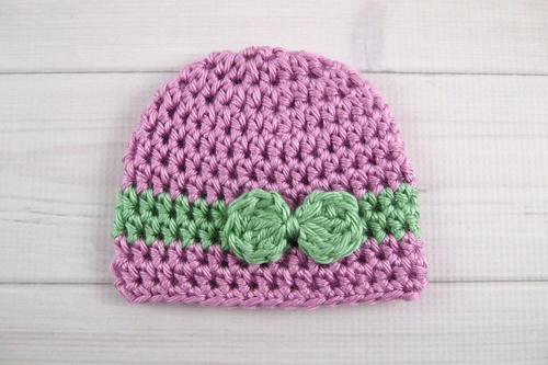 Wrapped With Love Preemie Crochet Hat