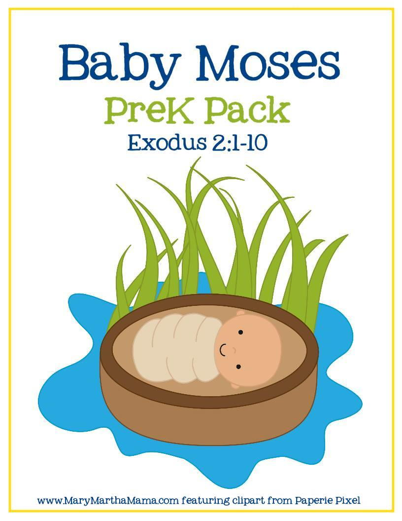 Baby Moses Crafts For Preschool