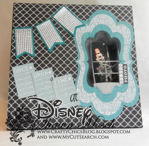 Steamboat Willie Scrapbook Layout