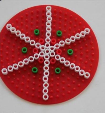 kids perler bead christmas ornaments - Perler Beads Christmas