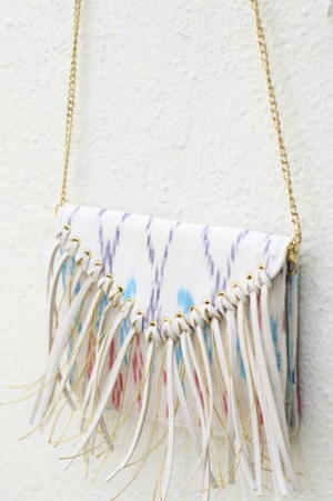 Fringed Bag Tutorial