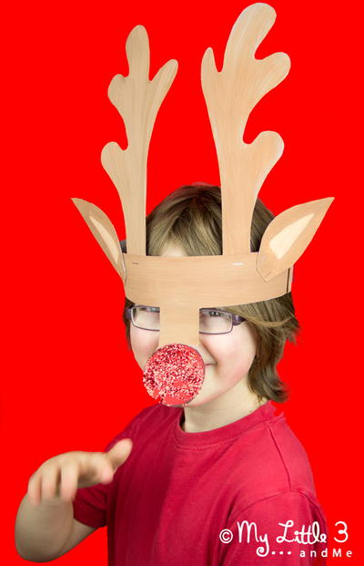 magical printable reindeer antler template allfreekidscrafts com