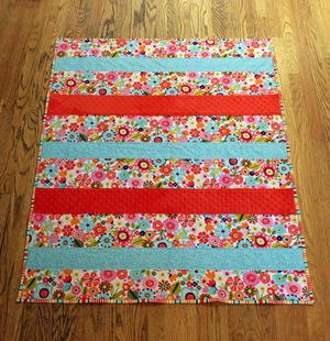 One Day Baby Quilt Tutorial