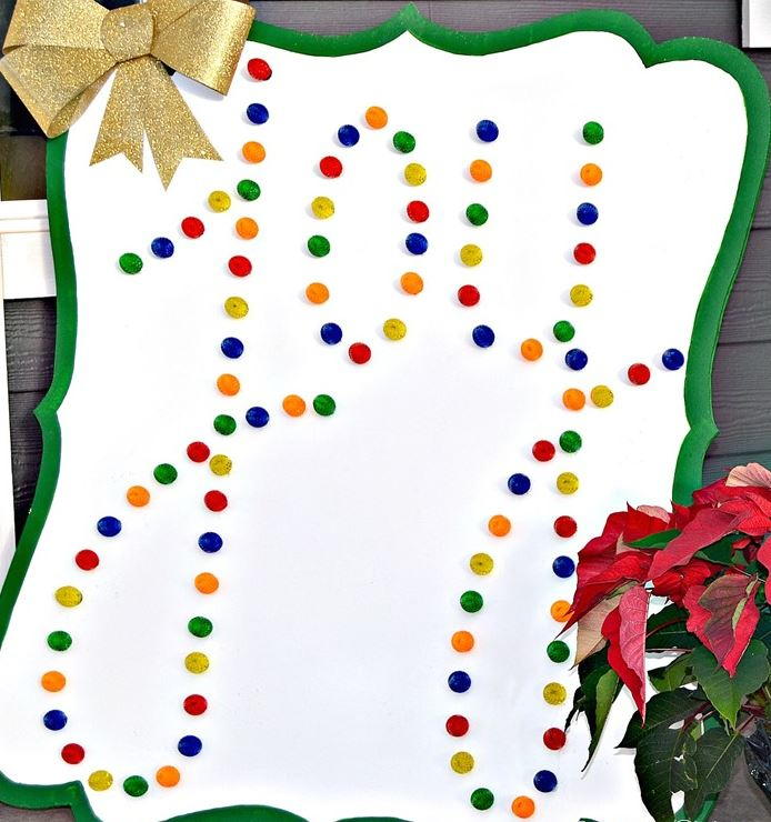 Light Up Joy DIY Christmas Sign | AllFreeChristmasCrafts.com