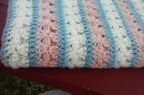 Coral Reef Baby Blanket Allfreecrochet
