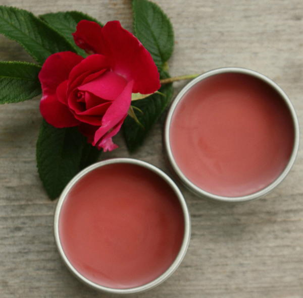 Peppermint Rose DIY Lip Balm