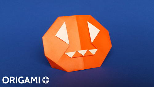 Origami Halloween Pumpkin Favecrafts