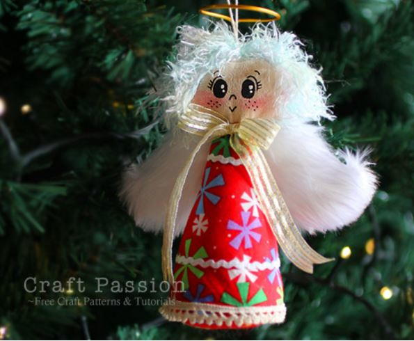 Fun and cute christmas angel crafts