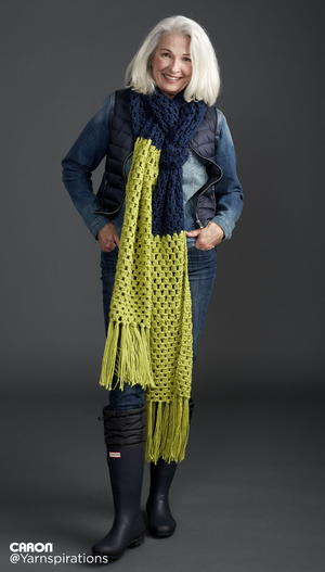 Neon Checkerboard Super Scarf