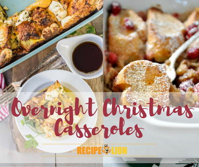 10 Recipes for Overnight Christmas Casseroles