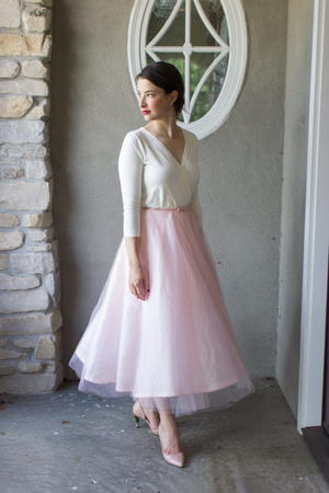 Prom Dress Princess Skirt Refashion