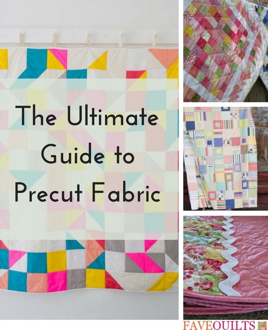 The Ultimate Guide to Precut Fabric | FaveQuilts.com : precut quilting fabric - Adamdwight.com