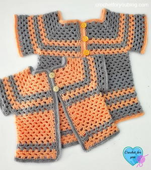 Lil Darlin Crochet Cardigan Pattern