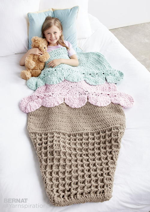 Ice Cream Snuggle Sack