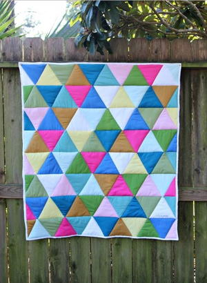 One-Day Triangle Quilt Tutorial