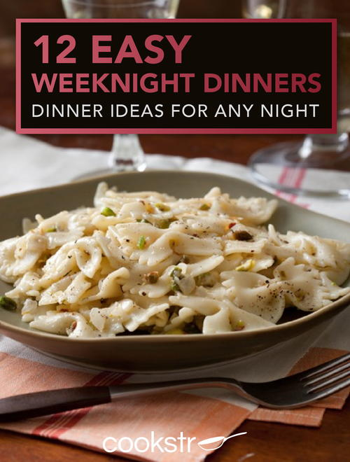 FREE 12 Easy Weeknight Dinners...