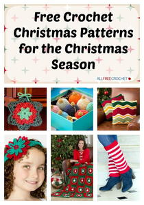 400+ Free Crochet Christmas Patterns for the Christmas Season