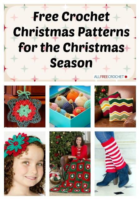 400+ Free Crochet Christmas Patterns for the Christmas Season ...