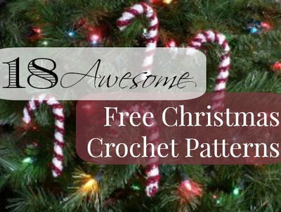 18 Awesome Free Christmas Crochet Patterns Allfreecrochet