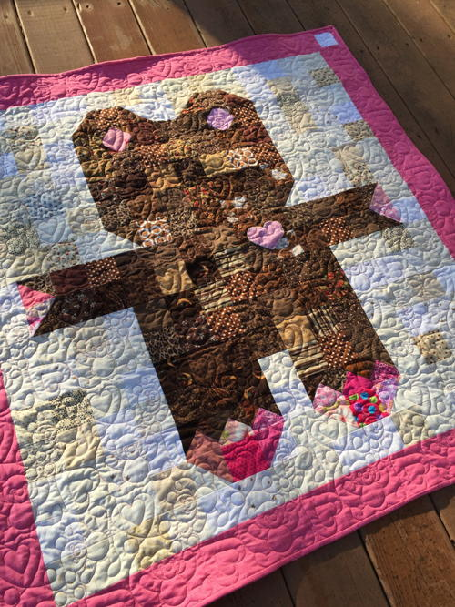Roly Poly Teddy Bear Quilt Favequilts
