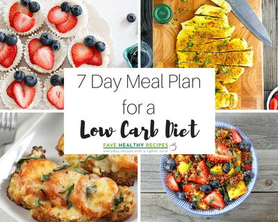 7 day meal plan with all low carb diet recipes favehealthyrecipes 7 day meal plan with all low carb diet recipes forumfinder Choice Image