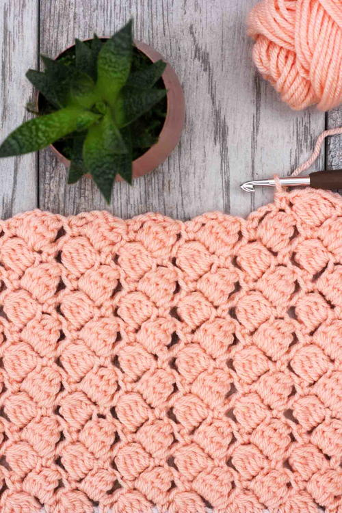 How To Crochet The Side Saddle Stitch Video Tutorial