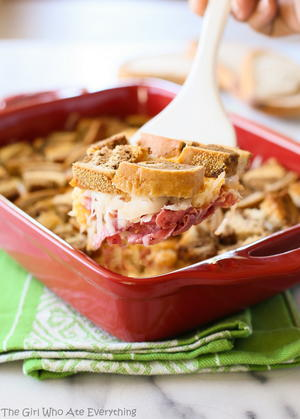5-Ingredient Reuben Casserole
