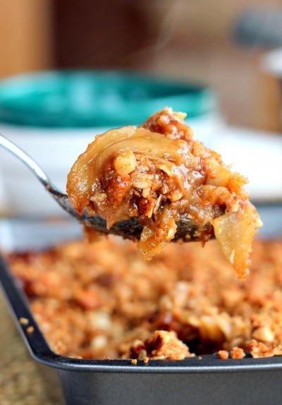 Vanilla Bean Apple Crisp