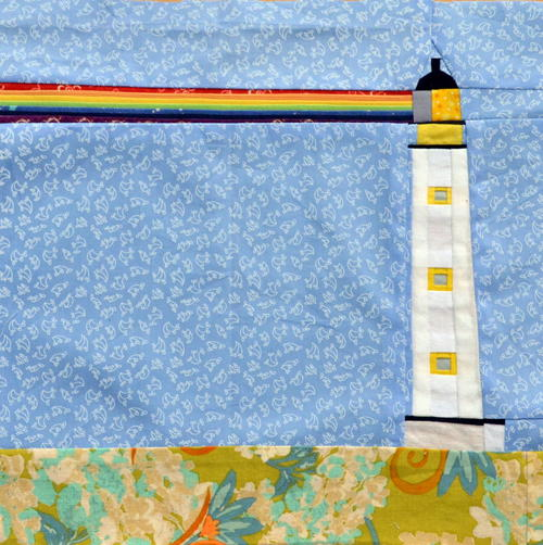 Lighthouse Paper Piecing Pattern