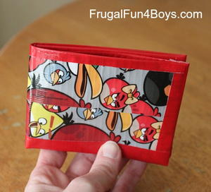 Fun Duct Tape Wallet