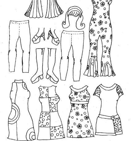 historical womens fashion printable paper dolls