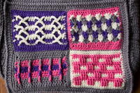 Groovy Berry Crochet Messenger Bag Crochet-Along - Pt 1: Introduction