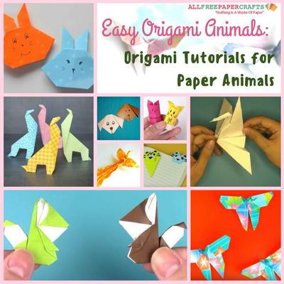 Easy Origami Animals 18 Origami Tutorials For Paper Animals
