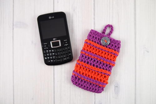 Bold Stripes Cell Phone Cozy