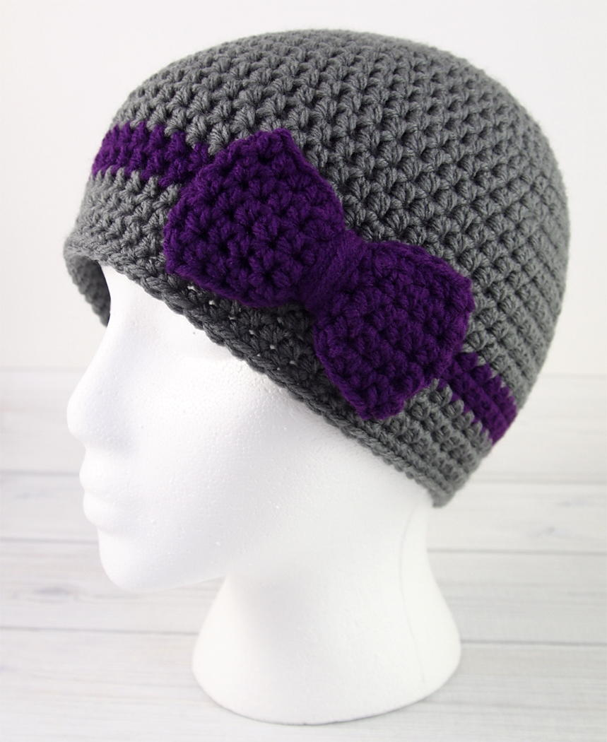 Wrapped with Love Crochet Hat | AllFreeCrochet.com