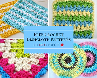 47 free crochet dishcloth patterns allfreecrochet 47 free crochet dishcloth patterns ccuart Images