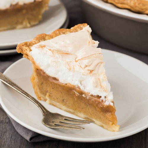 Caramel Sweet Potato Pie