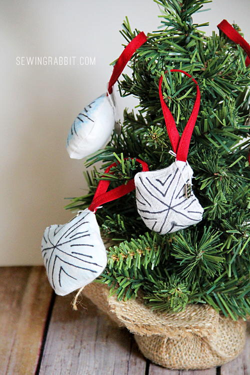 Snow Day Snowflake Ornaments