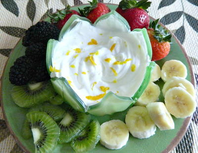 1970s Style Light and Luscious Fruit Dip