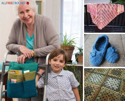 47 Easy Crochet Patterns for Your Retirement