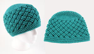 Celtic Dream Crochet Beanie Pattern