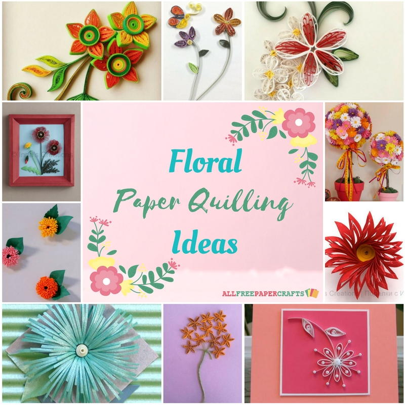 How to quill paper 40 free paper quilling patterns quilling flowers 18 floral paper quilling ideas mightylinksfo
