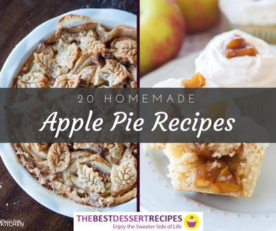 20 Homemade Apple Pie Recipes