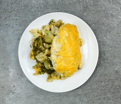 Frugal Chicken and Broccoli Casserole