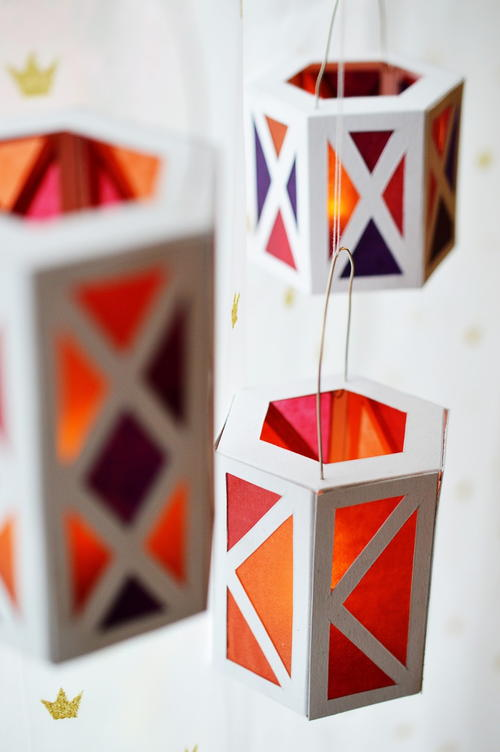 Cozy Paper DIY Lanterns