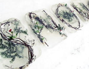 Frozen Nature DIY Outdoor Decor