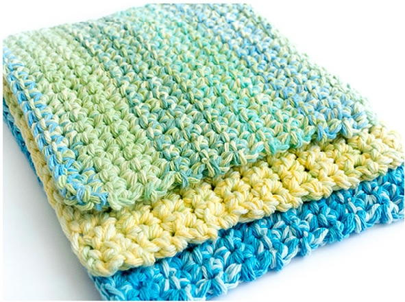 40 Free Crochet Dishcloth Patterns For Beginners FaveCrafts Adorable Best Crochet Dishcloth Pattern